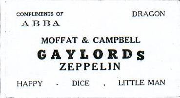 Almight Lords of Moffat and Campbell Gaylords