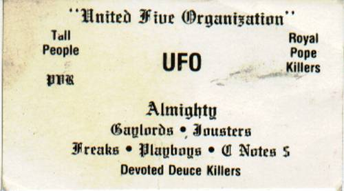 United Five Organization | UFO | United Fighting Organization